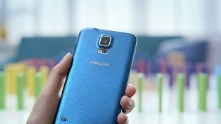 Samsung GALAXY S5 : Official Hands-on