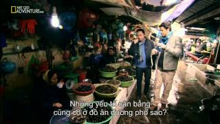 [HD] NatGeo | Discover Hanoi Exotic Street Food - Part 1