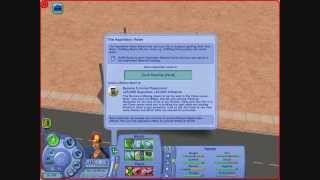 Sims 2 Apocalypse Challenge Part 05 - Let's see what the job listings are...