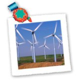 qs_95201_1 Danita Delimont – Energy – USA, Washington, Wind generators energy – US48 CCR0118 – Charles Crust – Quilt Squares – 10×10 inch quilt square